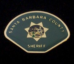Santa Barbara County Sheriff's Department Hat Pin #GE02764