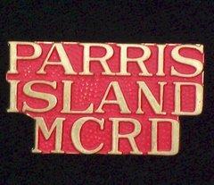 Parris Island Marine Corps USMC Pin #93-15412