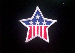 United States Flag Star Patriotic Patch #GE0495