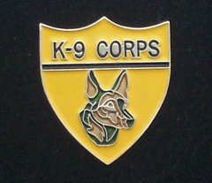 K-9 Corps Police Hat Pin #GE14709