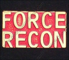 Force Recon Marine Corps USMC Pin #GE15336
