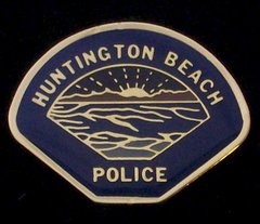 Huntington Beach Police Department Hat Pin #GE02794