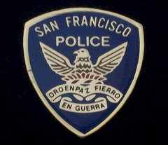 San Francisco Police Department Hat Pin #GE02779
