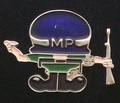 Military Police Soldier Man Hat Pin #GE14917
