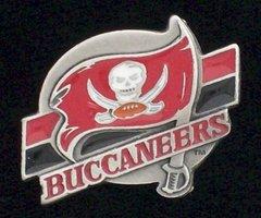 Tampa Bay Buccaneers NFL Team Logo Pewter Pin