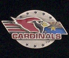 Arizona Cardinals Pewter NFL Team Logo Pin