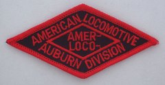 American Locomotive Auburn Division RR Patch #14-0932