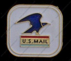 United States Mail Post Office USPS Hat Pin #GE05392