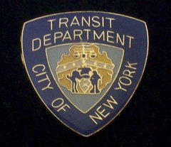 City of New York Transit Department Hat Pin #GE63834