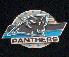 Carolina Panthers Pewter NFL Team Logo Pin