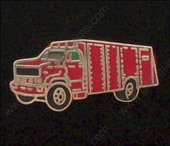 Fire Rescue Truck Pin #GE02339