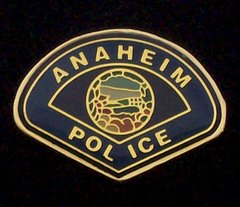 Anaheim Police Department Hat Pin #GE02862