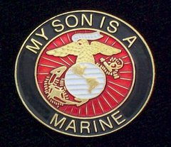 My Son Is A Marine USMC Pin #93-15351