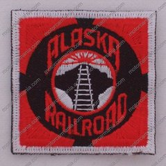 Alaska Railroad Square Patch #14-0920