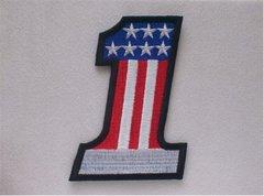 United States Flag USA #1 Patriotic Patch #GE0357