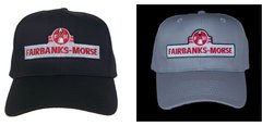 Fairbanks-Morse Embroidered Railroad Cap Hat #40-3800L Choice of Hat Color