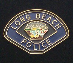 Long Beach Police Department Hat Pin #GE02792