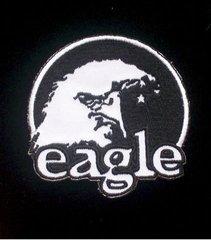 Black & White Eagle Patch #GE0396