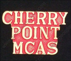 Cherry Point MCAS Marine Corps Air Station USMC Pin #GE15413