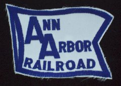 Ann Arbor Railroad Patch #14-1002