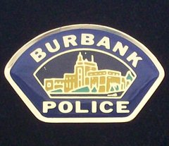 Burbank Police Department Hat Pin #GE02799