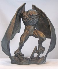 The Mothman: Small Town Monsters-Exclusive Resin Statue by CreatuReplica