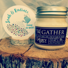 GATHER Mason Jar Candle