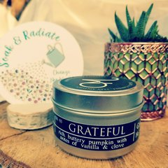 GRATEFUL Travel Tin Candle