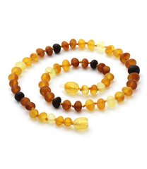 Batic Amber Necklace Raw Unpolished