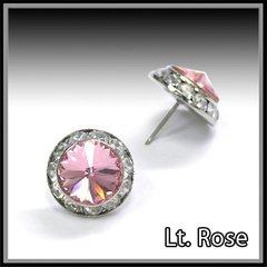 Lt. Rose Crystal Earring