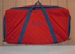 Padded Saddle Pad Bag