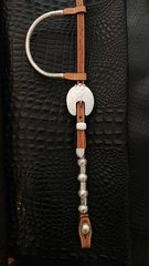 Show Headstall with rounded buckle