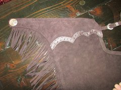 Embossed Ostrich Custom Chaps