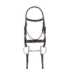 Ovation® Breed Plain Raised Padded Bridle