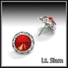 Lt. Siam Crystal Earrings