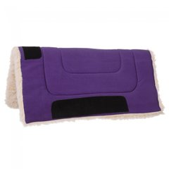 Fleece Bottom Canvas Saddle Pad