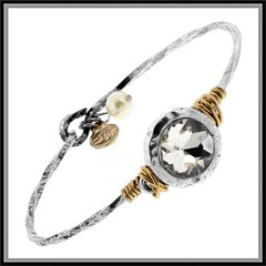 Rhinestone Cabochon Bracelet