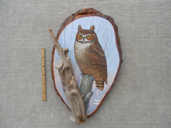 Owl  (medium)  SOLD