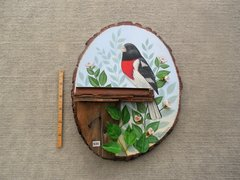Rose Brested Grosbeak  (small)  SOLD