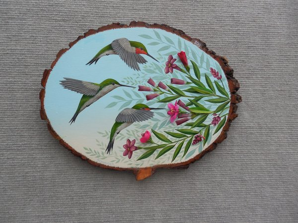 Hummingbirds  (large). SOLD