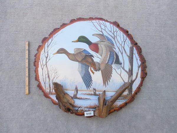Ducks (large). SOLD