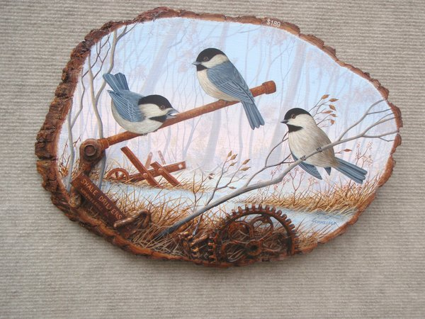 Chickadees  (large). SOLD