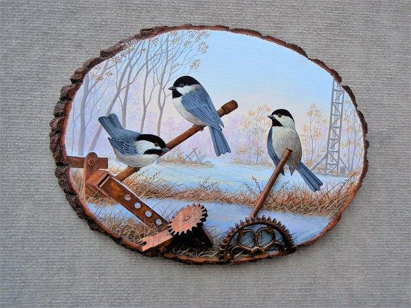 Chickadees  (large)
