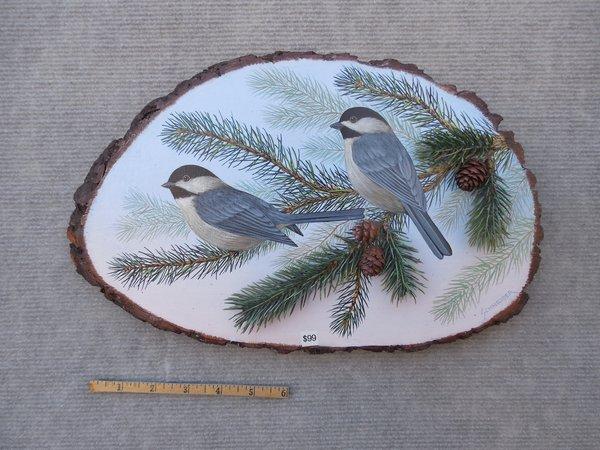Chickadees (medium). SOLD