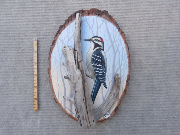 Woodpecker (small). SOLD