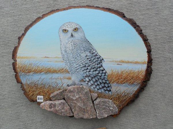 Owl (snowy)   (Medium)  SOLD