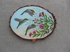 Hummingbirds (large). SOLD