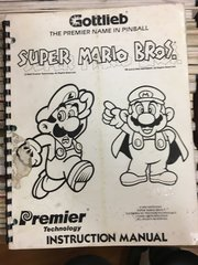 Super Mario Brothers SMB Operations Manual - Original Used