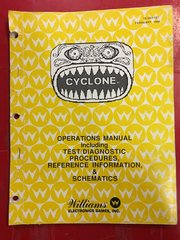 Cyclone Operations Manual - Original Used