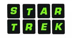 820-5061-05 Data East STAR TREK 25th ANNIVERSARY Drop Target Decals